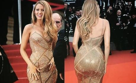 Blake Lively Instagrams About Her Butt, Royally Pisses Off Internet