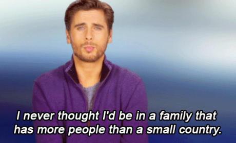Scott Disick Makes Fun of the Kardashians
