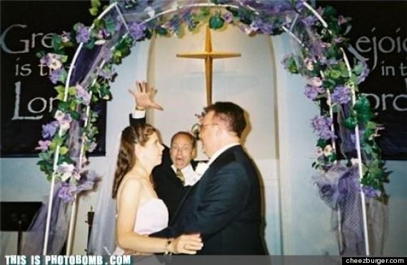 Pastor Photobomb