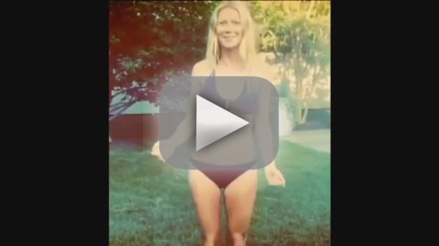 Gwyneth Paltrow Ice Bucket Challenge