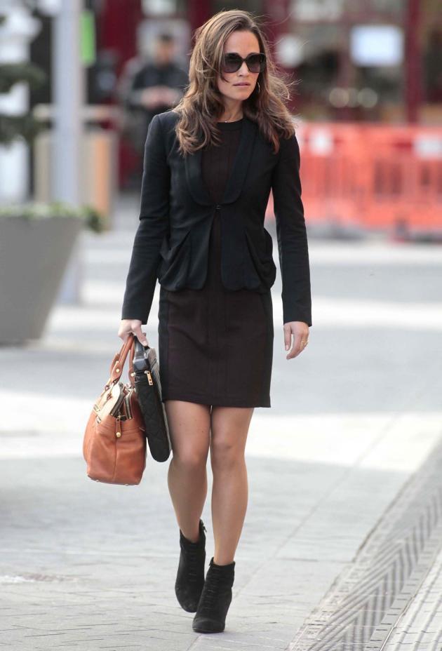 Pippa in Black