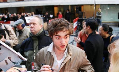 Rob Pattinson Photograph