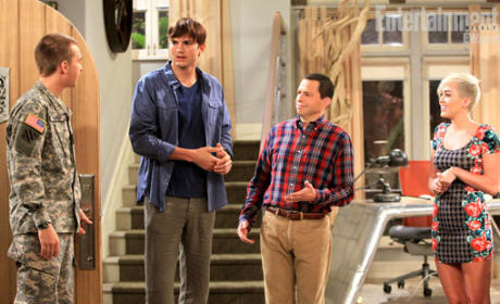 Miley Cyrus Books Return to Two and a Half Men