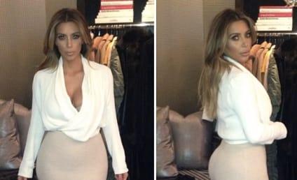 Kim Kardashian Panics, Suffers Near Wardrobe Malfunction