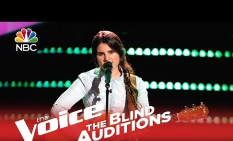 Krista Hughes - Angel From Montgomery (The Voice)