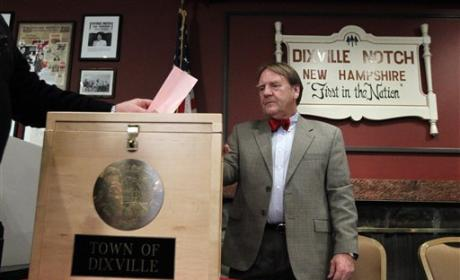 Dixville Notch Kicks Off New Hampshire Primary With Tie!