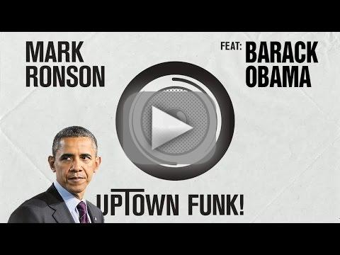 Barack Obama - Uptown Funk (Mark Ronson-Bruno Mars Lip Dub)