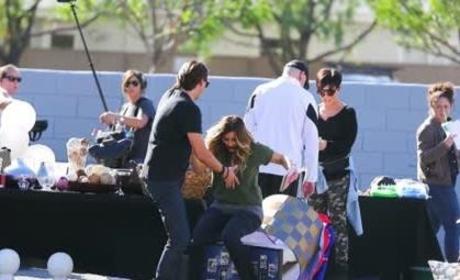 Down Goes Kim Kardashian!