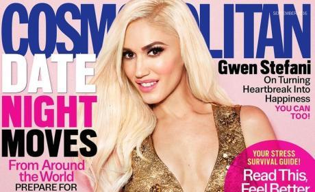 Gwen Stefani Cosmo Cover
