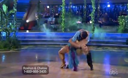 Chelsie Hightower Barely Avoids Dancing With the Stars Wardrobe Malfunction