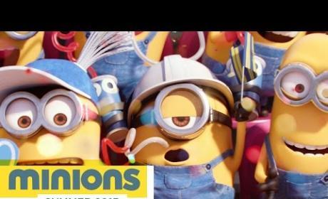 Minions Super Bowl Trailer