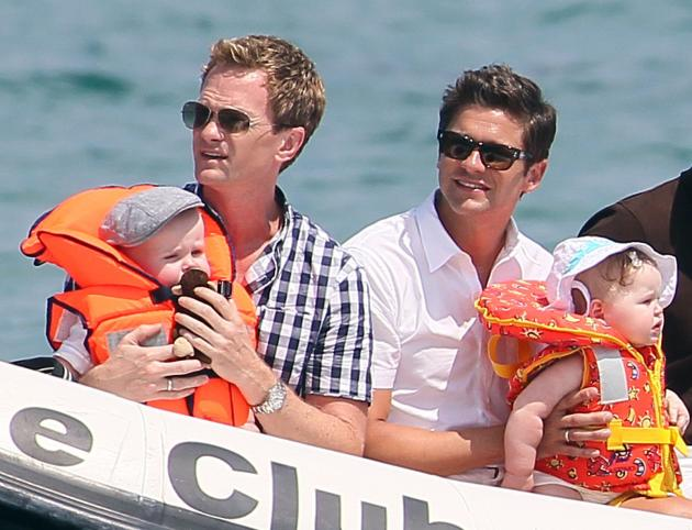 Neil Patrick Harris, David Burtka, Twins