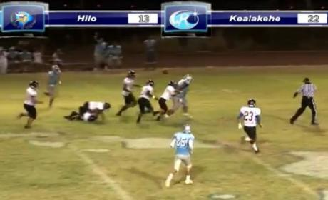 350 lb. Running Back Rumbles to Hawaii