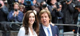 Paul McCartney and Nancy Shevell: Married!