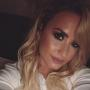 Demi Lovato Goes Blonde, Can't Resist the Spotlight