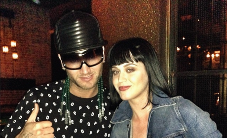 Riff Raff and Katy Perry Photo