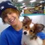 Justin Bieber and Sammy
