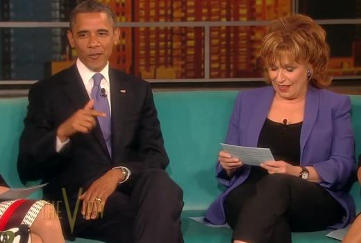 Obama and Behar