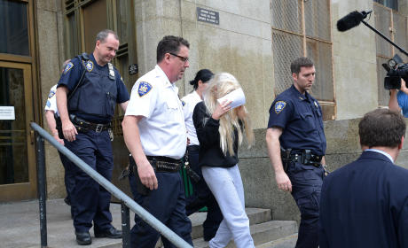 Amanda Bynes Arrest Photo
