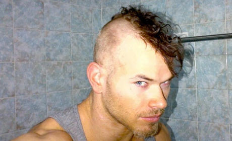 What do you think of Kellan Lutz with a mohawk?