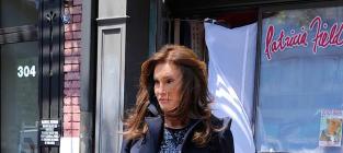 Caitlyn Jenner Struts Around NYC in Stylish Short Skirt