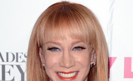 Kathy Griffin Red Carpet Picture