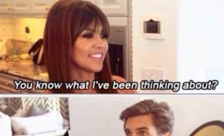 Scott Disick Mocks Kourtney Kardashian