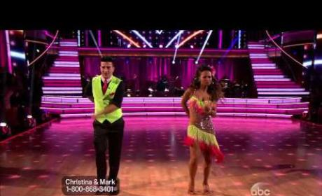 Christina Milian DWTS Elimination: Julianne Hough to Blame?