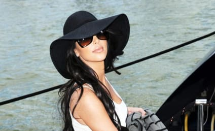 Kim Kardashian and Miles Austin Shut Down Night Club, Honor America's Birthday