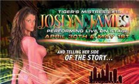 Joslyn James Striptease Tour Follows Tiger to N.C.
