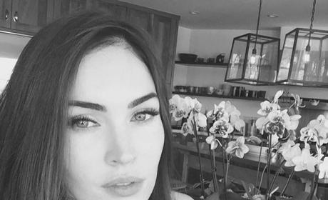 "Megan Fox Reminds Us She's ""Still Here,"" Shares Sexy Selfie"