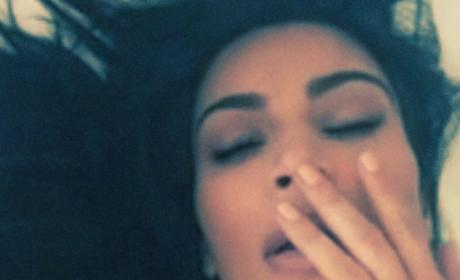 Kim Kardashian Orgasms
