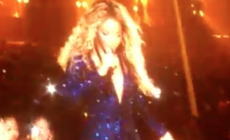 Beyonce to Fan: Put That Damn Camera Down!