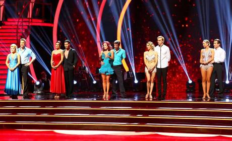 Dancing with the Stars Contestants Wait