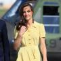 Kate Middleton Wearing Yellow