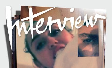 Miley Cyrus Interview Cover