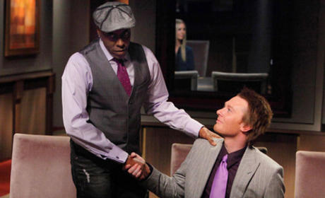 Arsenio Hall and Clay Aiken