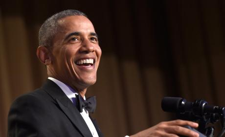 Barack Obama Brings Down the (White) House: His Best Jokes!