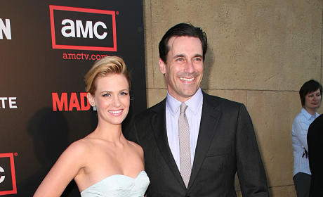 Jon Hamm & January Jones Photo