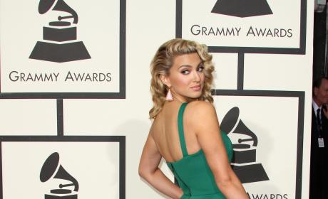Tori Kelly at 2016 Grammy Awards