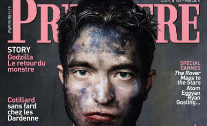 Robert Pattinson: All Dirty for Première!