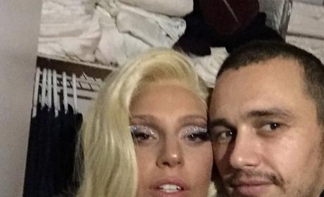 James Franco Parties With Lady Gaga and Courtney Love in Wake of The Interview Debacle