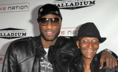 Lamar Odom and Father: Hanging Out, Mending Relationship