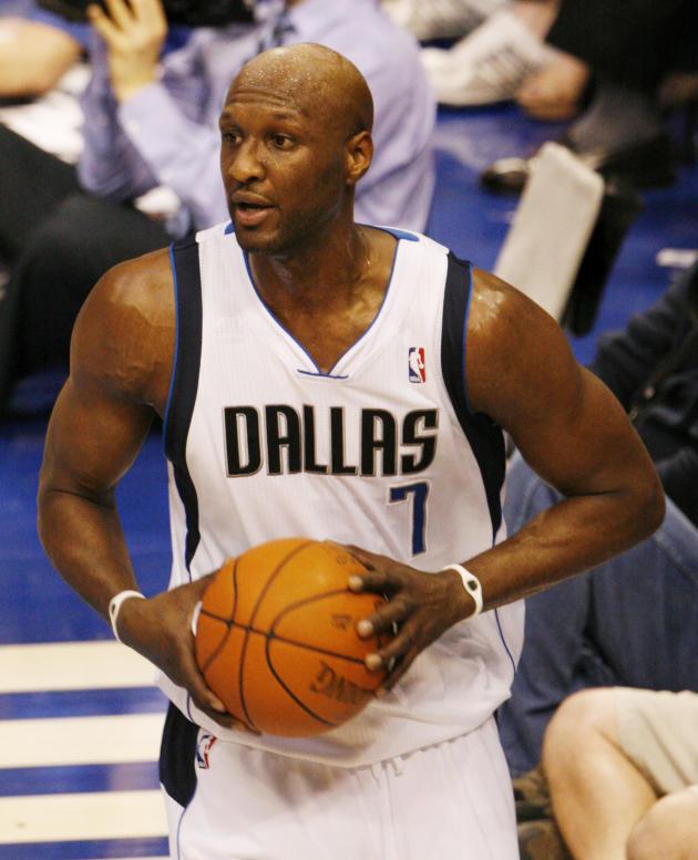 Lamar Odom in Dallas