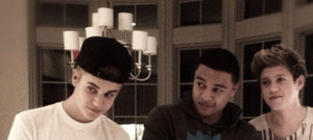 Justin Bieber and One Direction: What's Cooking?