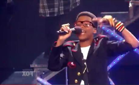 Astro Raps, Rewrites a Michael Jackson Classic on The X Factor