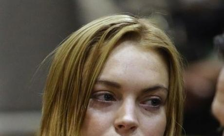 Lindsay Lohan Steals from Anger Managament Set