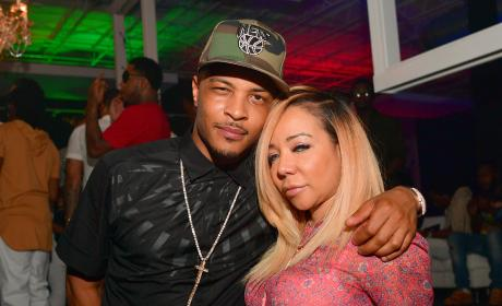 Tameka Harris and T.I.
