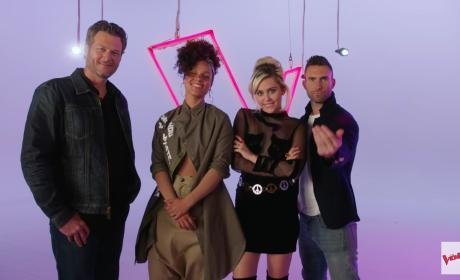 The Voice Season 11 Panel