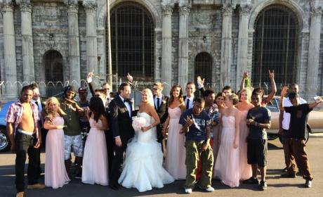 Wedding Photo With Rappers